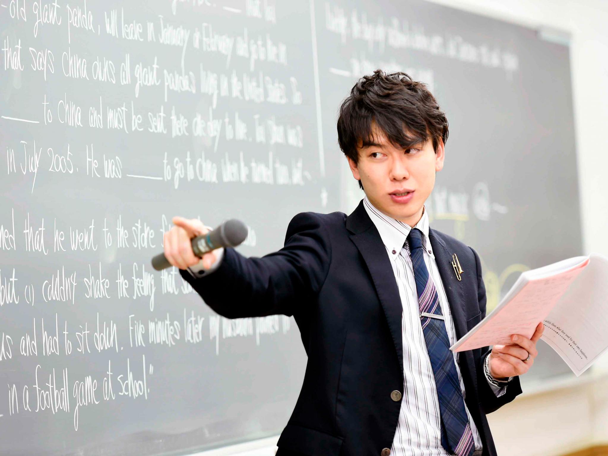 プロ講師による綿密な受験指導