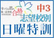 中3志望校別日曜特訓