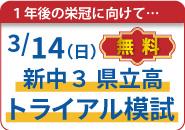 新中3県立高トライアル模試